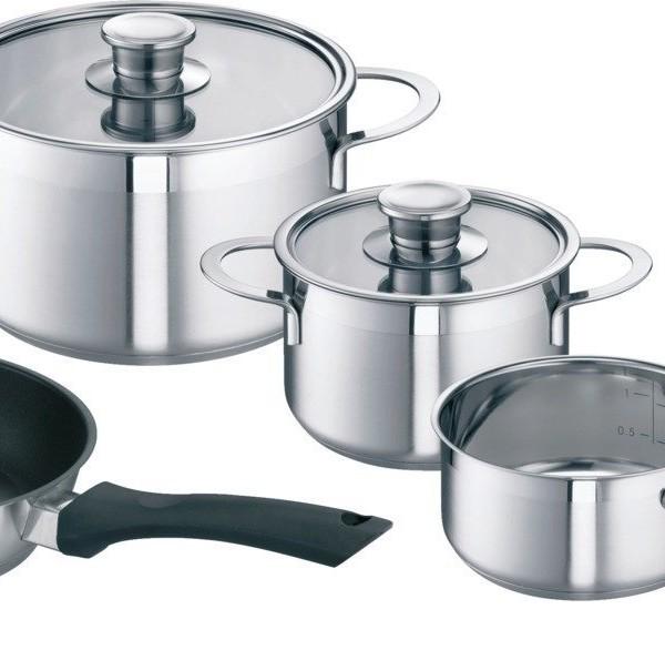 Bosch hez390042 set di pentole per piani ad induzione - Pentole per cucine a induzione ...