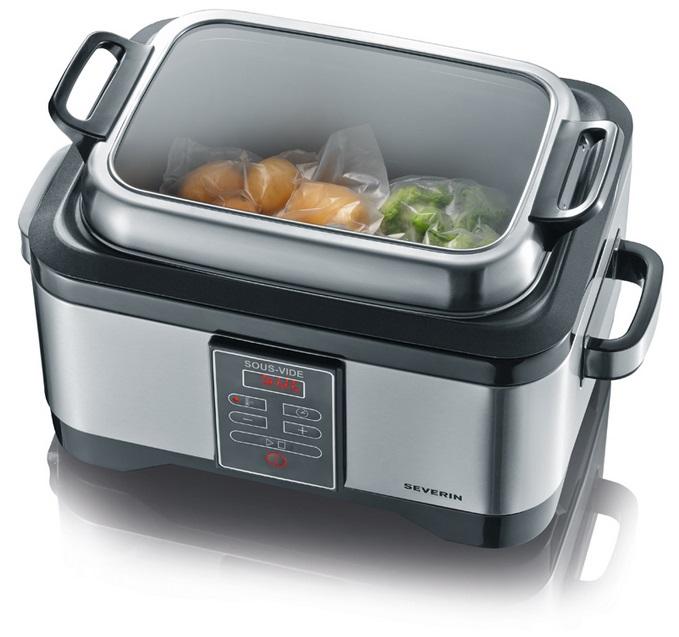 Severin sv 2447 sistema di cottura professionale - Cucinare senza grassi ...