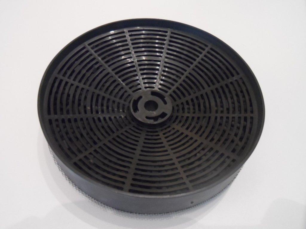 Aerazione forzata: Filtro a carbone attivo