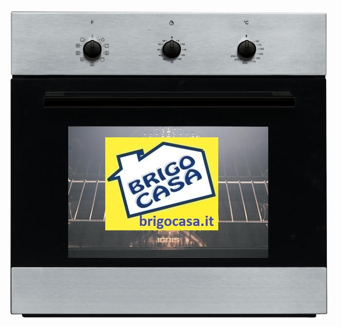 Forno da incasso ventilato classe a funzione pasticceria pizza pane dolci ignis aks185 ix inox - Forno ad incasso ventilato ...